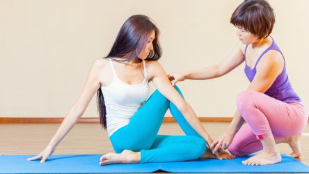 Should I Adjust Students in Yoga Class?