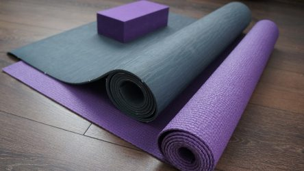 These Light Weight Yoga Mats and Props Making Going to Yoga Class Easy