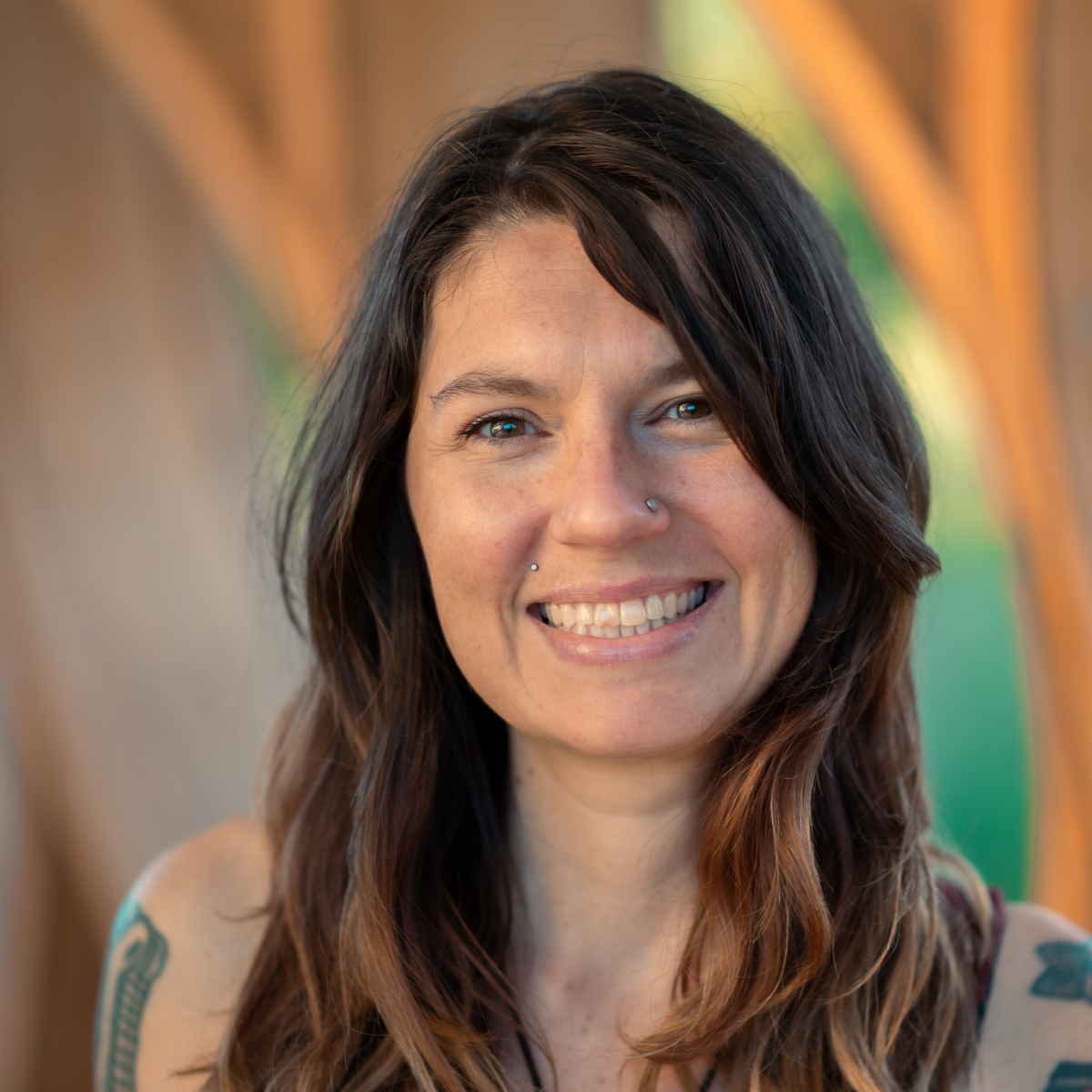 Erica teaches flow and online for our donation based classes