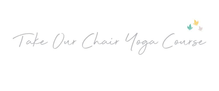 Online Chair Yoga Course