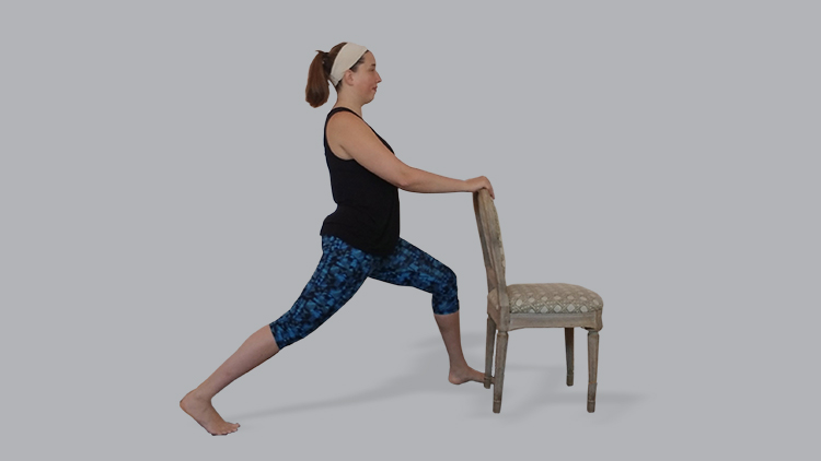 How to Practice a Standing Chair Yoga Sun Salutation Sequence