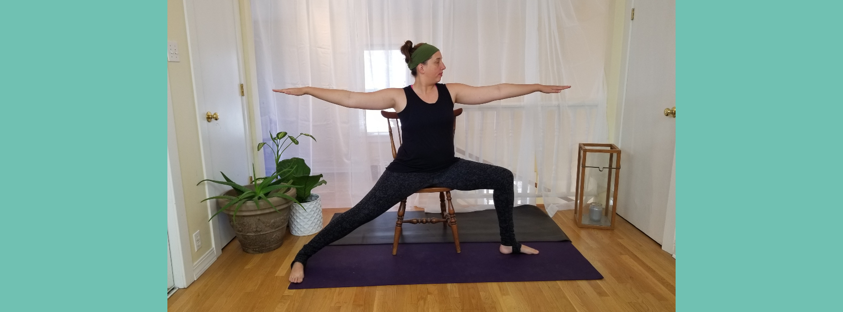 A Ten Minute Chair Yoga Sequence for Beginners