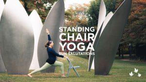 Standing Chair Yoga