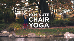 10 Minute Chair Yoga Sequence