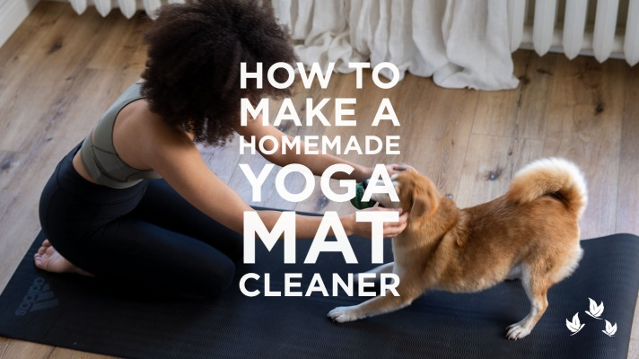 How to make a homemade yoga mat cleaner