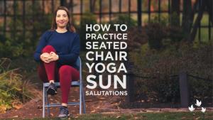 Seated Chair Yoga Sun Salutations