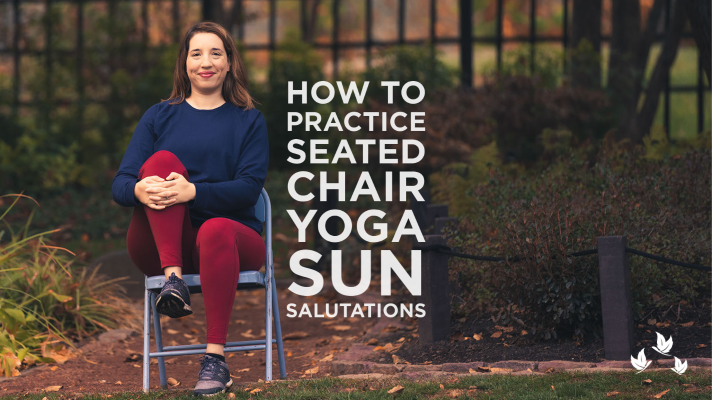 How to Practice Seated Chair Yoga Sun Salutations