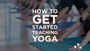 How to teach yoga